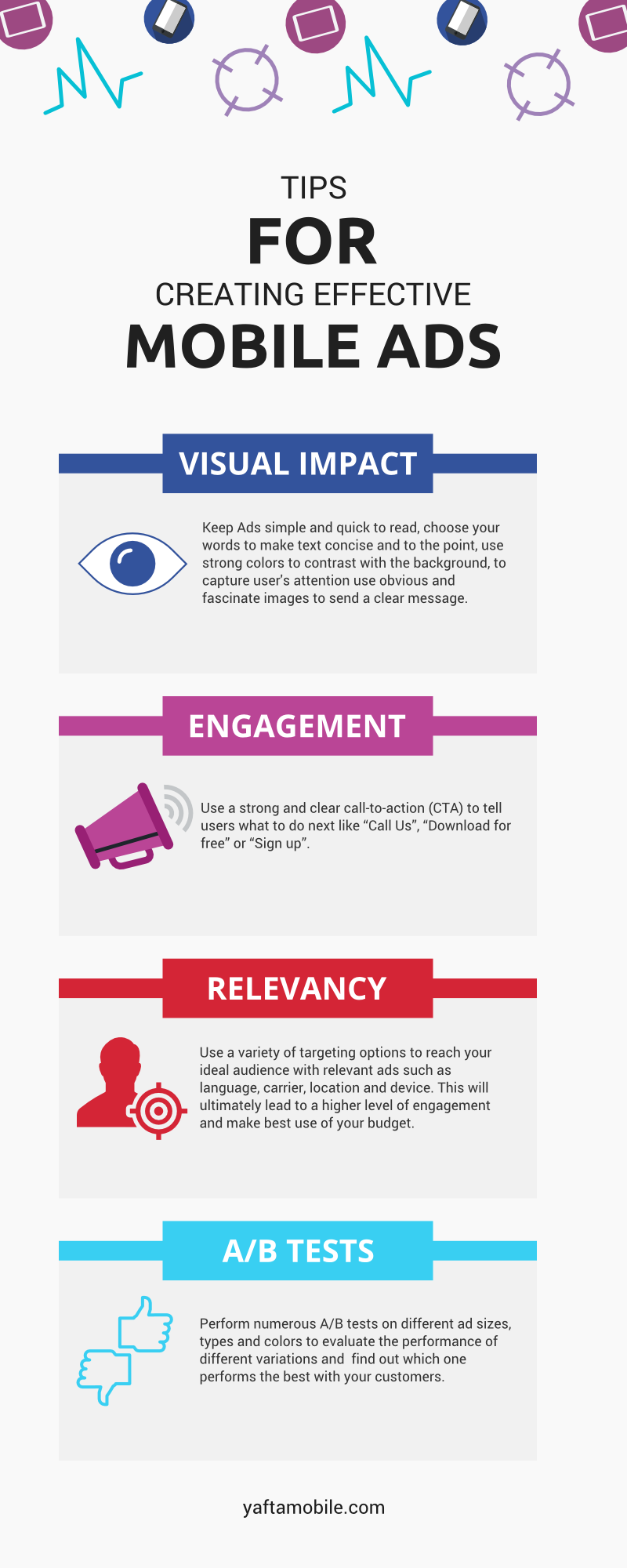 Infographic: Tips for Creating Effective Mobile Ads